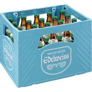 Edelweiss Hefetrüb 20 x 0,5 - 5,3% vol.