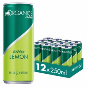 ORGANICS Red Bull Bitter Lemon 24x025